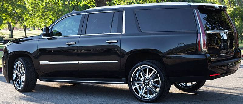Cadillac Escalacadillac Escalade Custom Wheels Amp Chrome Rims