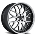 Giovanna Essex Black Machined Wheels