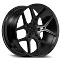 Giovanna Haleb Semi Gloss Black Wheels