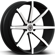 Borghini BW29 Machined Black Wheels