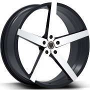 Borghini B35A Machine Black Wheels