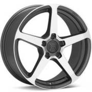 Bremmer Kraft BR15 Machined Anthracite Wheels