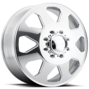 Eagle Series 059 Polished Front Dually Wheels