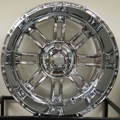 Full Throttle Off-Road 8033 Chrome Wheels