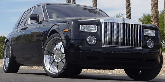 Donz Brigante Custom Wheels on 2006 Rolls Royce