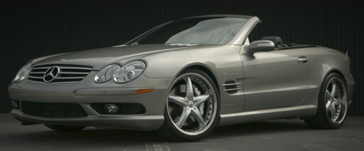 Antera 349 on Mercedes SL55