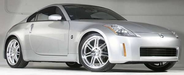 350Z with Ace Allure Alloy Wheels