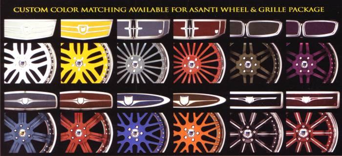Asanti Luxury Body Styling Kits