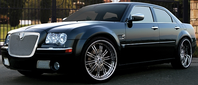 Chrysler 300 with 22 Inch Rims