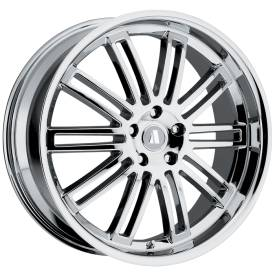 August Werke Chrome Alloy Wheels