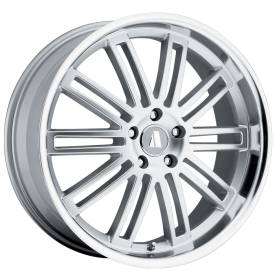 August Werke Silver Alloy Wheels