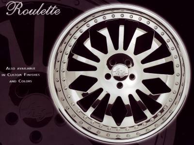 AZA FORGED ROULETTE