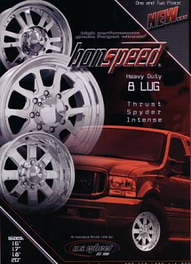 bonspeed Heavy Duty 8 LUG Billet wheels