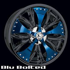 Blu Bolted Spinner