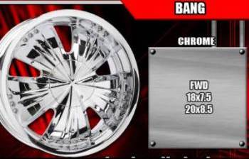 Bigg Bang Chrome Rims