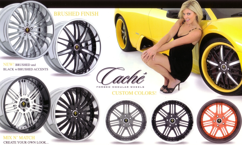 Cache' Forged Modular Wheels