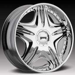 Chrome Custom Wheels on Dub Custom Wheels   Chrome Rims