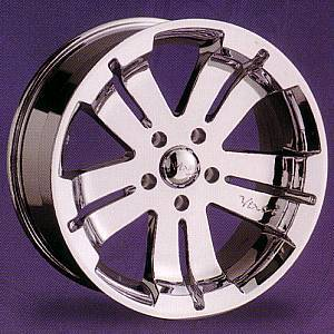 20x8.5 D'Vinci Zino Chrome 6-5.5 >>> $1099 set!