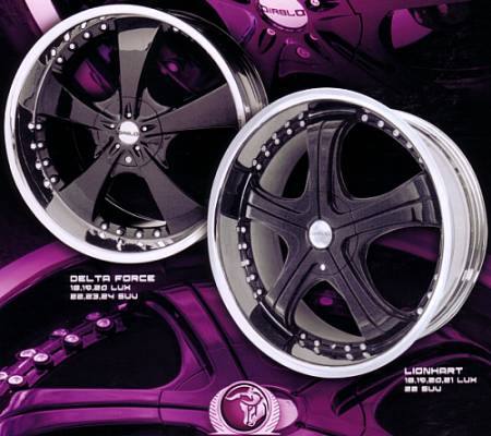 CUSTOM COLOR ONE PIECE WHEELS