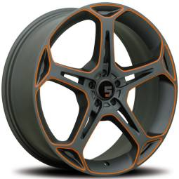501 Gunmetal Orange