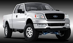 2004 Ford F150 on Ultra Type 164 Alloy Wheels