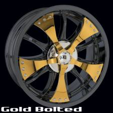 Gold Bolted Spinner