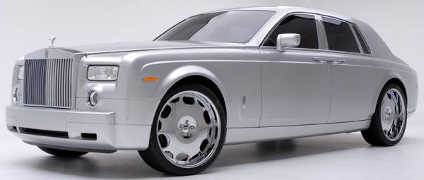 GFG Forged Modular Brasta Wheels on Rolls Phantom