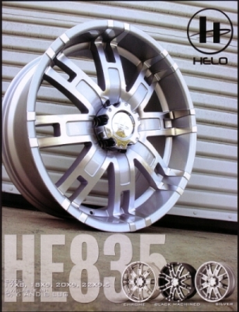 HELO HE835 ALLOY WHEEL