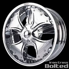 Iron Cross Bolted Spinner