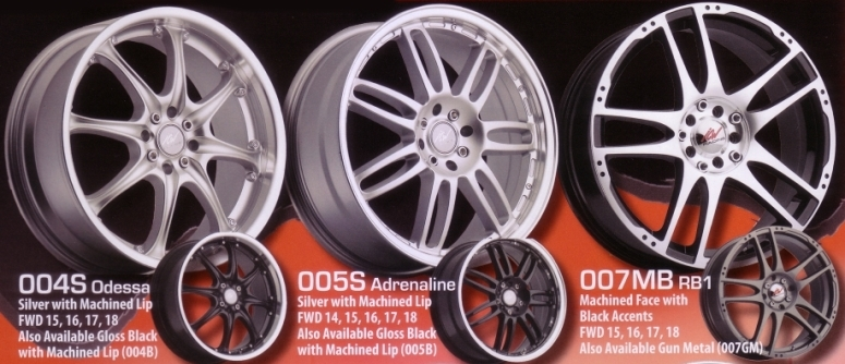 ICW RACING WHEELS