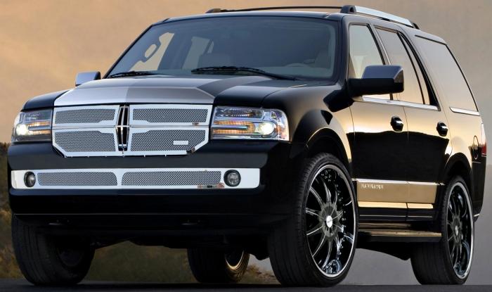 Lexani 2-Tone Black CS2 Custom Wheels & Grille Kit