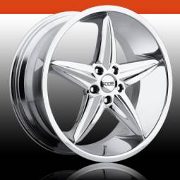 20x8.5 Foose F5Chrome > $995 set!