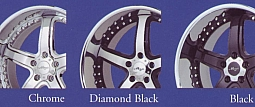 Maya DLS Chrome / Diamond Black / Black