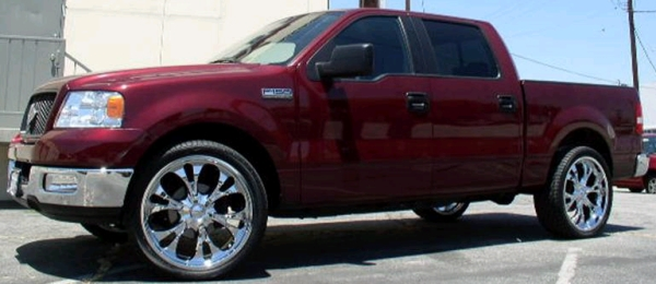 Ford F-150 with Rims