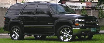 20x9.5 Mondera X on Chevrolet Tahoe