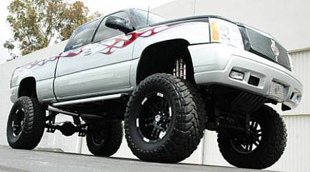 Chevy Truck ridin' on Black Moto Metal 951s