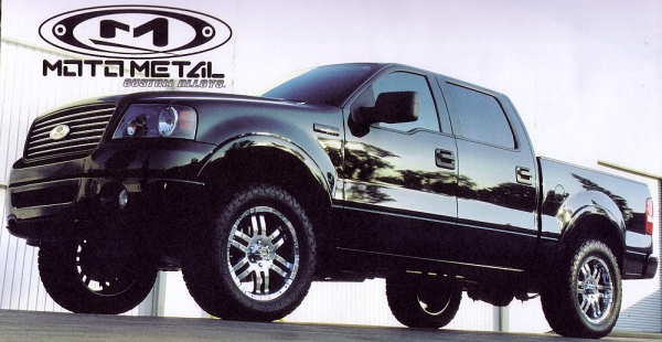 Ford F150 on Moto Metal MO951 Chrome Alloy Wheels