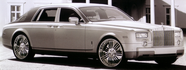 2005 ROLLS ROYCE PHANTOM on 24 inch P.MILLER PM504