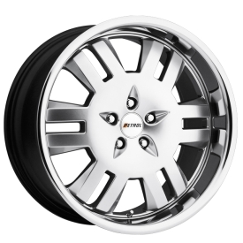 19 in. Petrol Rodeo 5-Lug Staggered > $499 set!