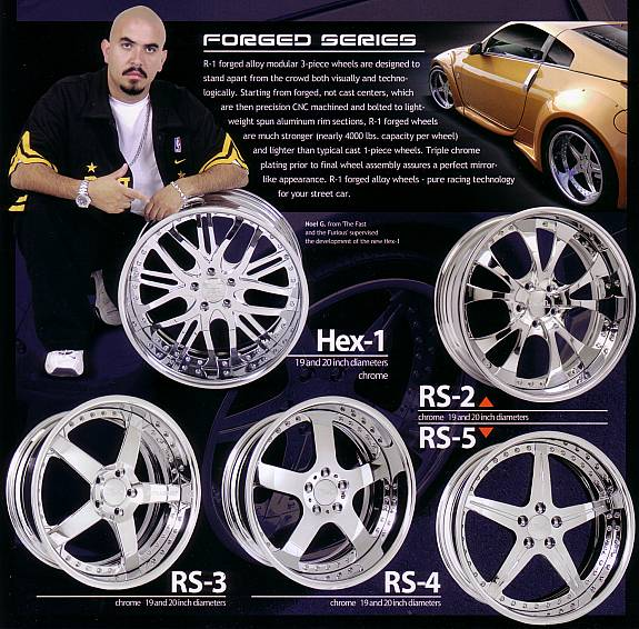 R-1 RACING SPORTS FORGED SERIES