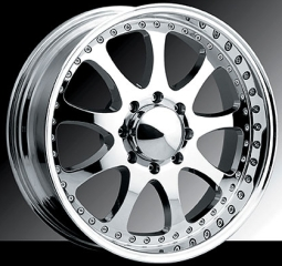 Raceline 127 CR2 Chrome