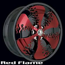 Red Flame Spinner