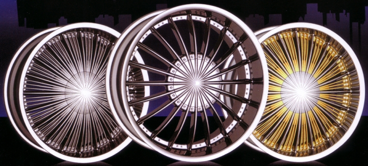 REVOLUTION LUXURY ALLOY WHEELS STYLE 827