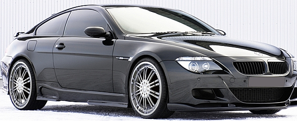 BMW 6 Series on Strada Venti Chrome Alloy Wheels