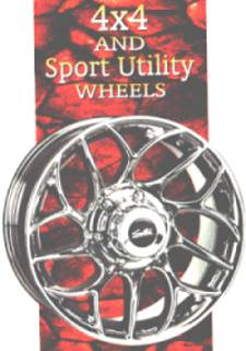 4 x 4 and Sport Utility Wheels