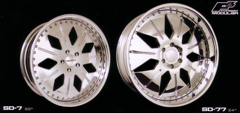 Snoop Dogg Forged Modular Wheels