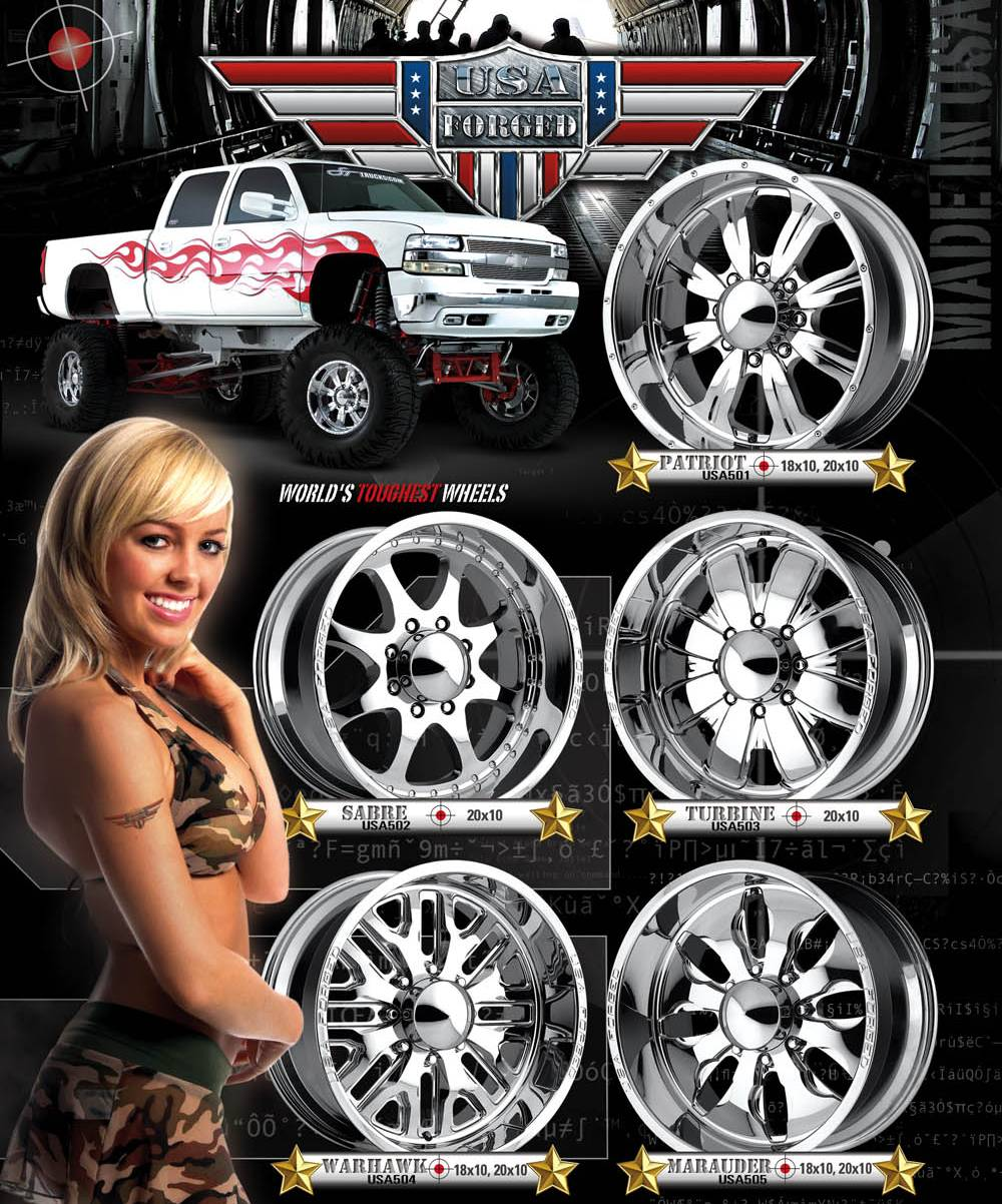 USA Forged Wheels ~ Made in U.S.A.