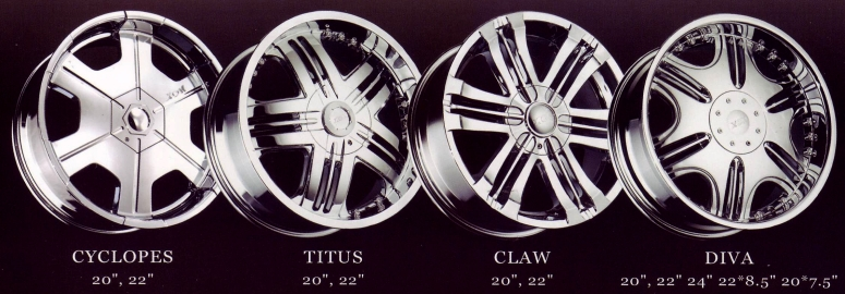 XON CONCEPTS CUSTOM WHEELS