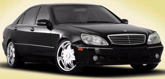 mercedes s class. Wheels on Mercedes S-Class