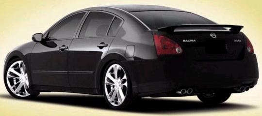 Nissan Maxima Custom Wheels